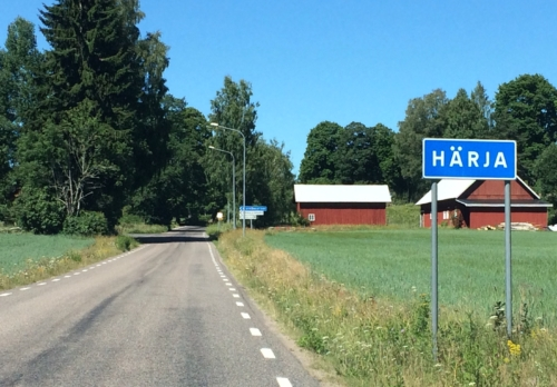 Entering Harja, from the east.