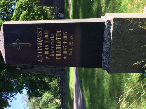 Gravesite of my great grandparents.